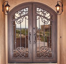 Doors come in many styles, finishes, designs and sizes.