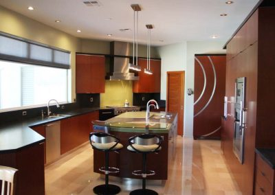 Contemporary Kitchen – Concrete Island